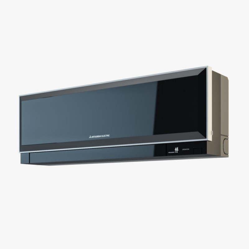 Wall Mounted Heating And Cooling Units : Mitsubishi electric wall split systems cooling